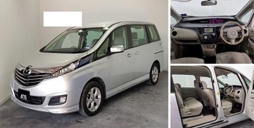 Design kabin Mazda Biante