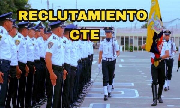 Información sobre el Reclutamiento y selección de personal de la CTE Comisión de Transito del Ecuador