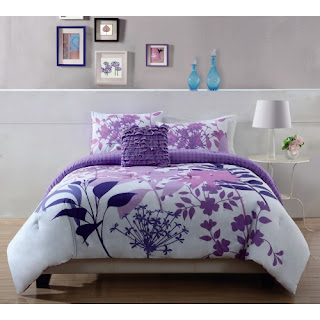 Purple bedroom ideas: Lavedender comforter set