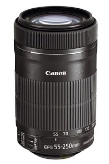 Canon EF-S 55-250mm IS STM Ultra Wide Lens: Links to professional / consumer reviews