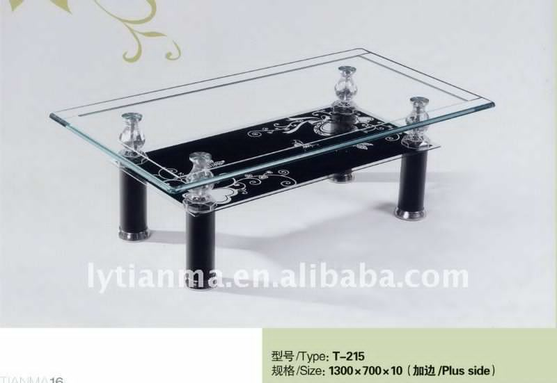 Living Room Furniture Modern Glass Center Table Elegance Classic Curly  Tribal Plants Authentic Black With Modern Part 11