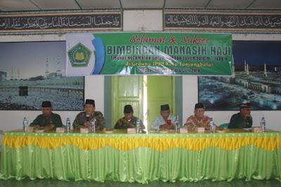 115 CJH Tanjungbalai Ikuti Bimbingan Manasik Haji