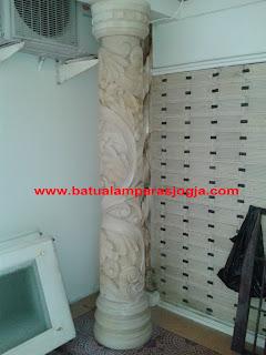 relief untuk tiang rumah