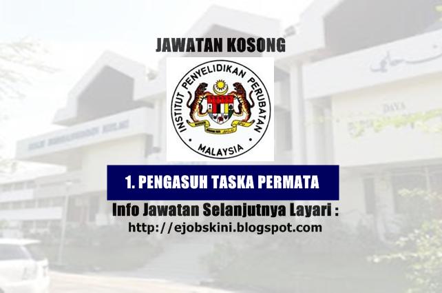 Jawatan Kosong Institut Penyelidikan Perubatan (IMR)