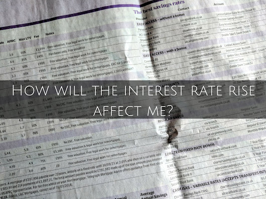 Finance Fridays – How will the interest rate rise affect me?