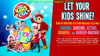 free Jollibee coupons march 2017