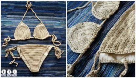 Come Fare I Costumi Alluncinetto Schemi Bikini A Crochet Paciuga