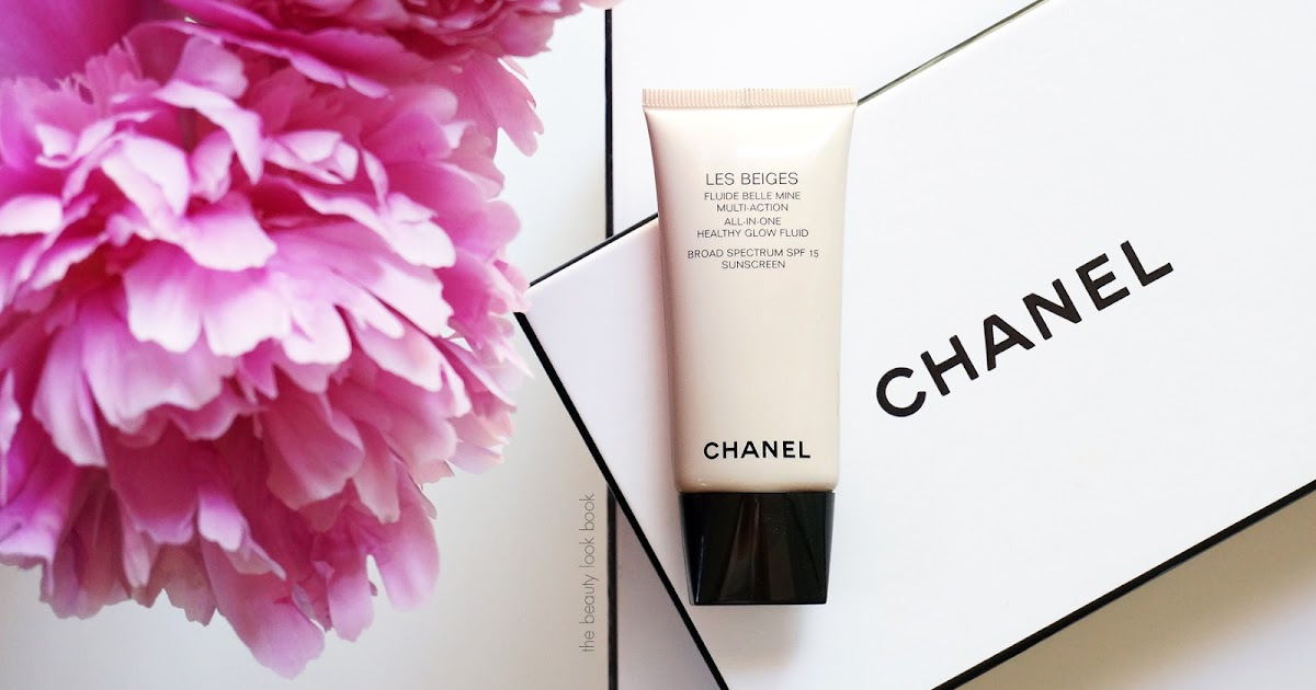 chanel les beiges healthy glow fluid no 30 the beauty look book. Black Bedroom Furniture Sets. Home Design Ideas