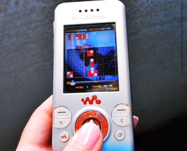 Jogo, celular, Lumines Block Challenge