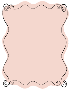 doodle pink labels frames hand drawn scrapbook printable