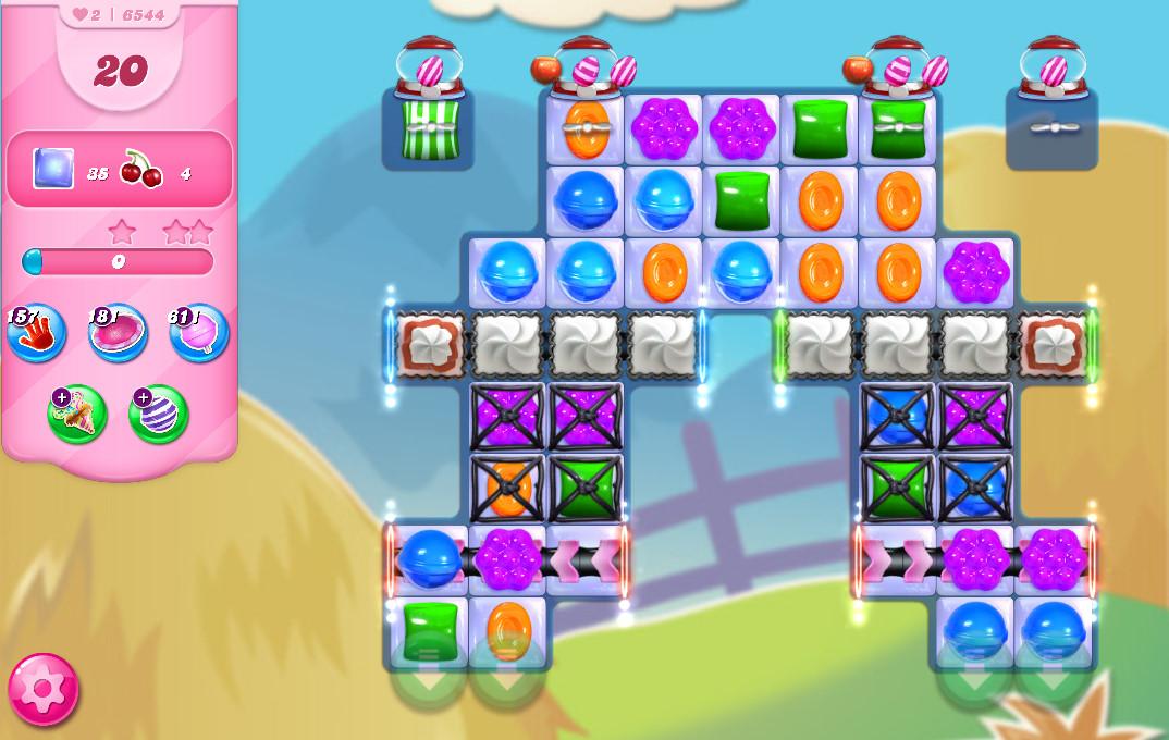 Candy Crush Saga level 6544