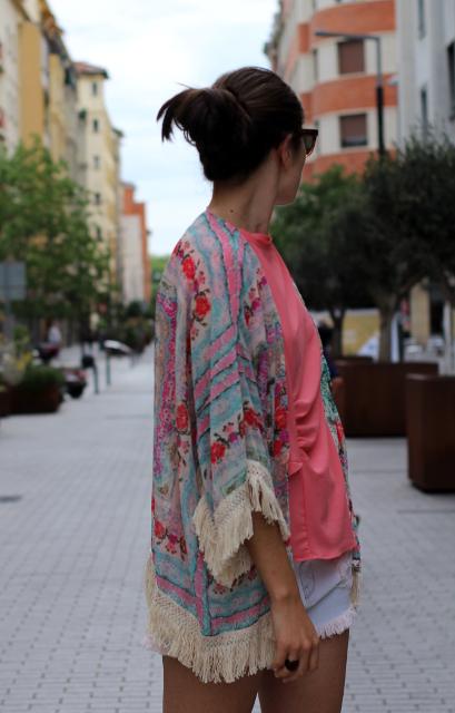 Kimono de flores