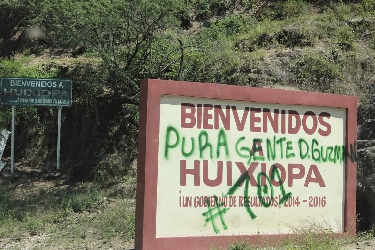 La supremacía de los Guzmán se impuso toman Huixiopa