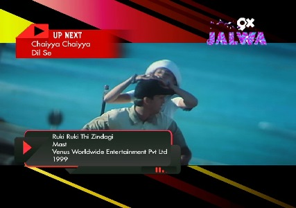 9x Jalwa Hindi Music Channel added on MPEG-4 Slot No.610 and LCN # 899