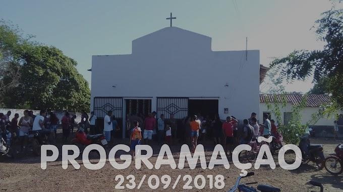 Festa de São Miguel Arcanjo - Programação 23/09/2018