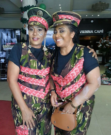Check Out Celebs Who Rocked Military Camouflage At Calabar Festival (PICS)
