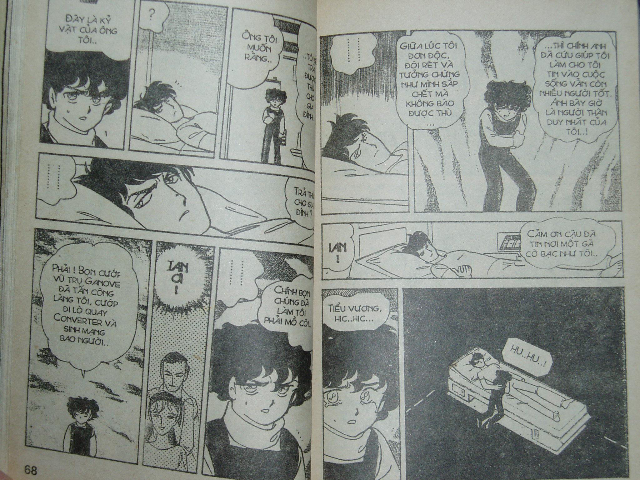 Siêu nhân Locke vol 14 trang 34