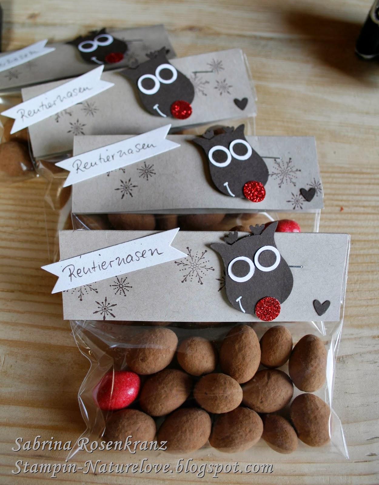 Weihnachtsgeschenke Kleinigkeiten.Stampin Up Weihnachtsgeschenke Stampin Naturelove