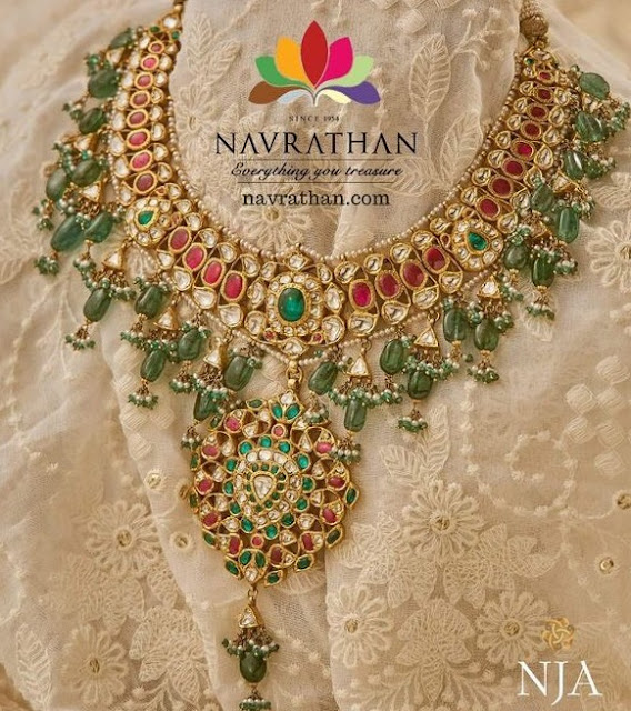 Kundan Jadau Necklace by Navaratan