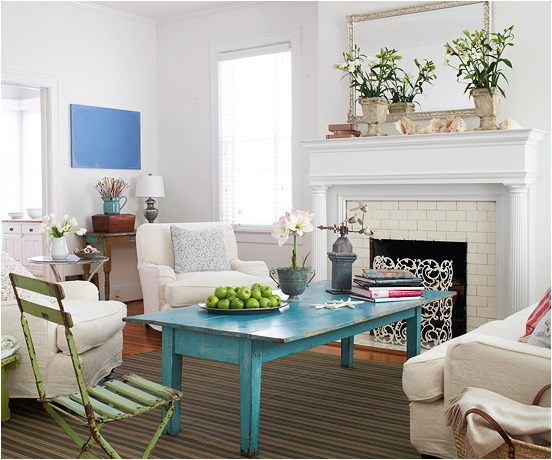 Key Interiors By Shinay: Cottage Living Room Design Ideas
