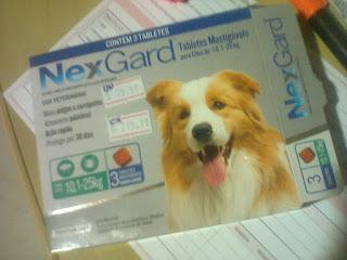 Nexgard anti-pulgas