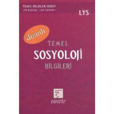 Karekök LYS Temel Sosyoloji Bilgileri (Dizinli)