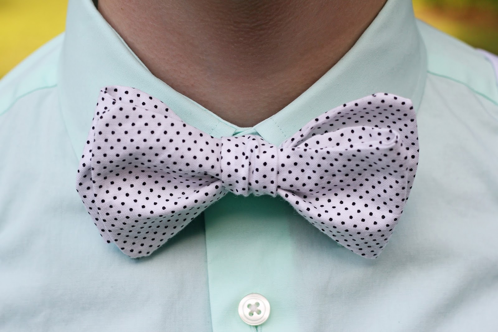 Ta-da! Personalized bow tie