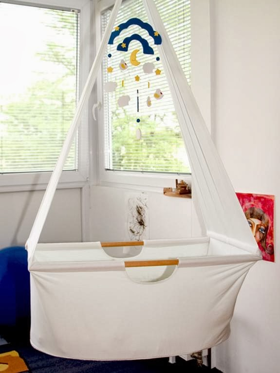 Baby hanging cradle with VIDEO Pattern