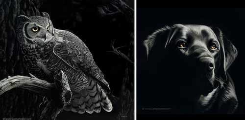 00-Cathy-Sheeter-Hyper-Realistic-Scratchboard-Wild-Animal-Drawings-www-designstack-co