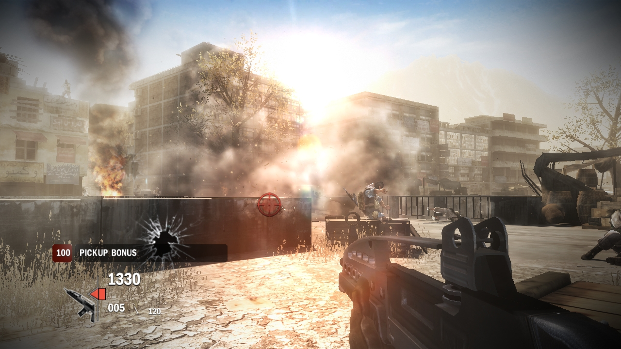 heavy fire afghanistan PC skidrow screenshot