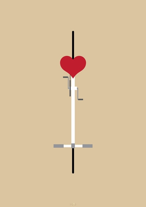 15-Ride Your Love-Thomas-Yang-100copies-Emoji-Bicycle-Themed-Drawings-www-designstack-co
