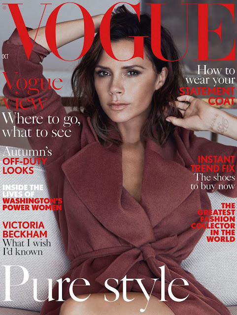 Singer, Model, @ Victoria Beckham - Vogue UK, October 2016