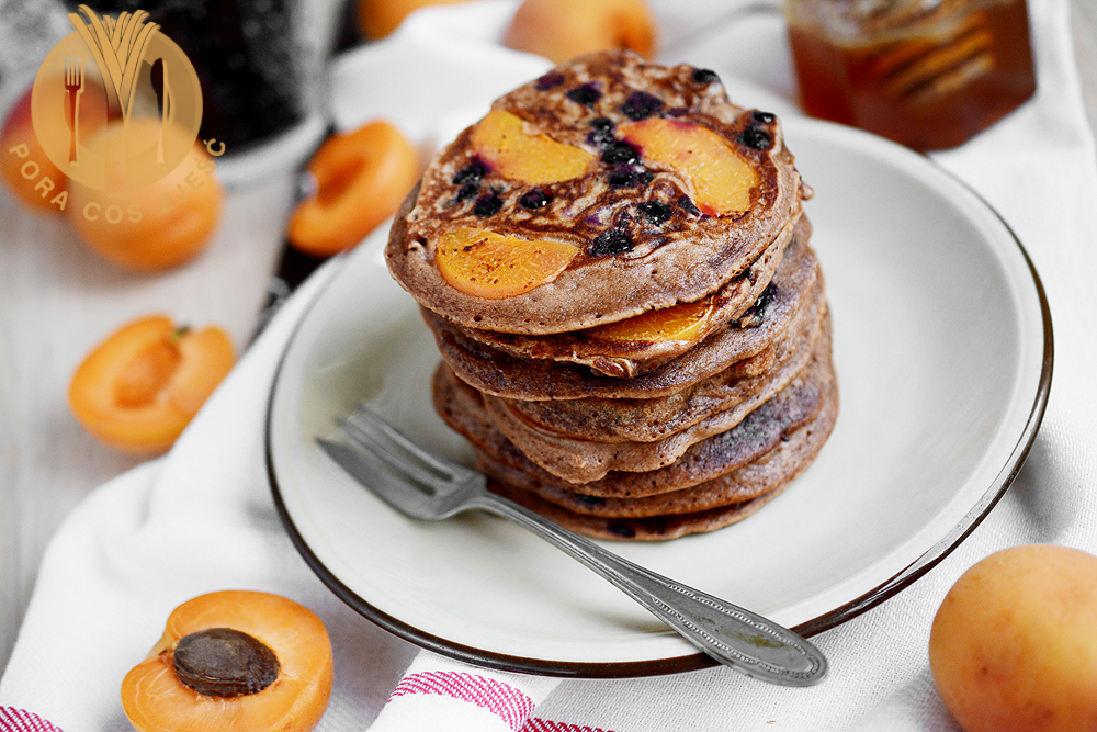 Pancakes z morelami