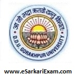 DDU Gkp University Entrance Admit Card