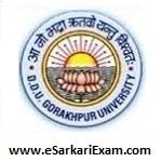 DDU Gkp University Entrance Admit Card