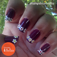Unhas decoradas: Flores Fashion
