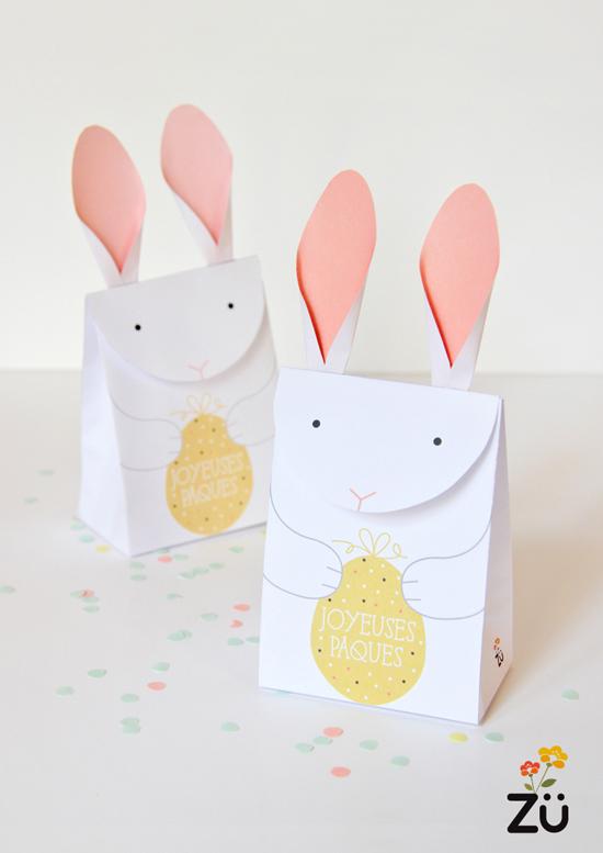 Cajas para huevos de Pascua