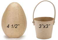 Get Annie Lang's FREE project instructions and painting patterns to create paper mache eggs and baskets