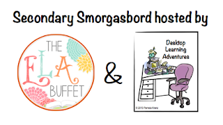 Secondary Smorgasbord: Hosted by ELA Buffet and Desktop Learning Adventures