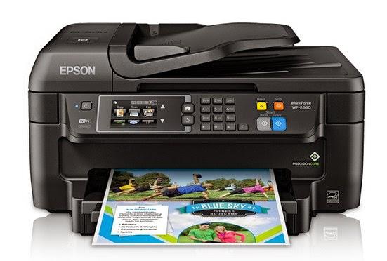 Epson Workforce WF-2660 Driver Download