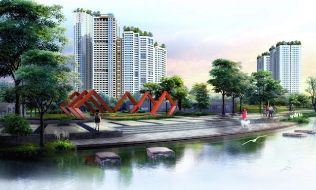 Căn hộ chung cư Aqua Park Bắc Giang