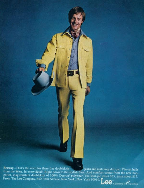Lee Jeans Beautiful Adverts For The Leisure Suit From The