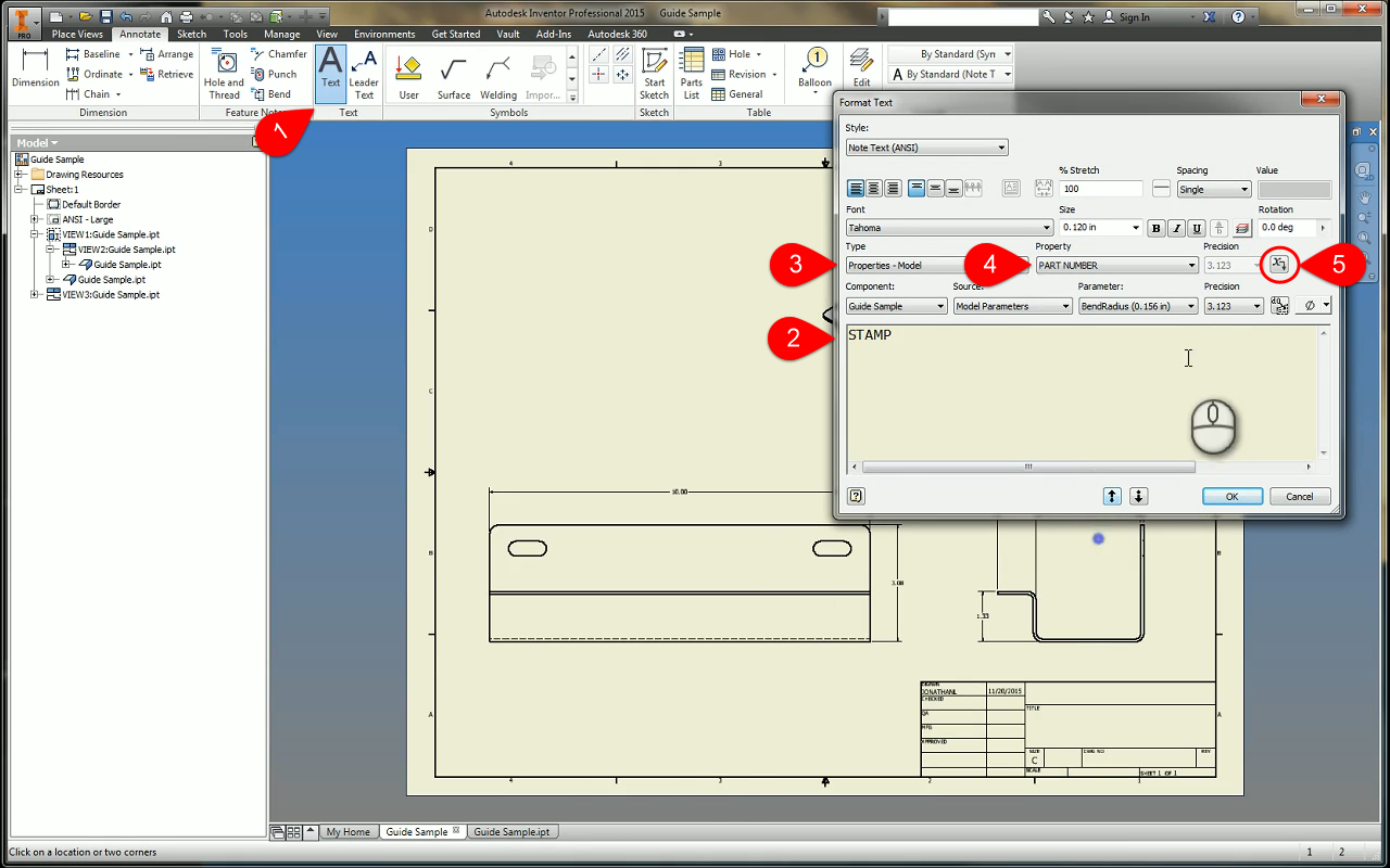 An iProperty in Time - Linking Autodesk Inventor Properties
