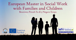 Beasiswa Penuh S2: European Master in Social Work with Families and Children