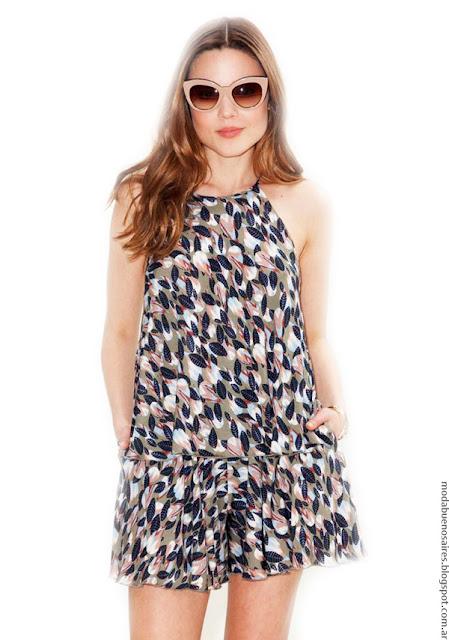 Moda primavera verano 2017 monos y vestidos colección Asterisco ropa de mujer.
