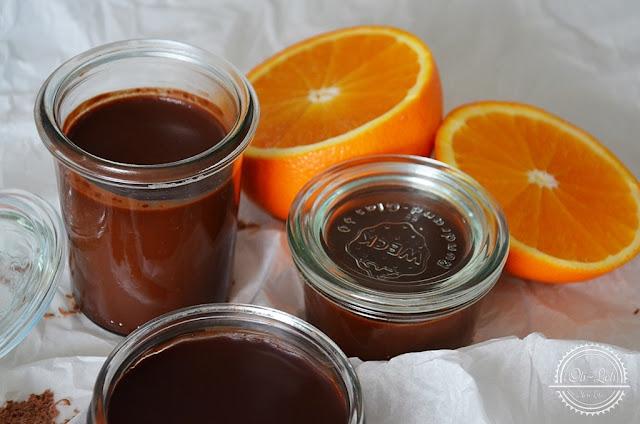 Krem czekoladowy z pomarańczą