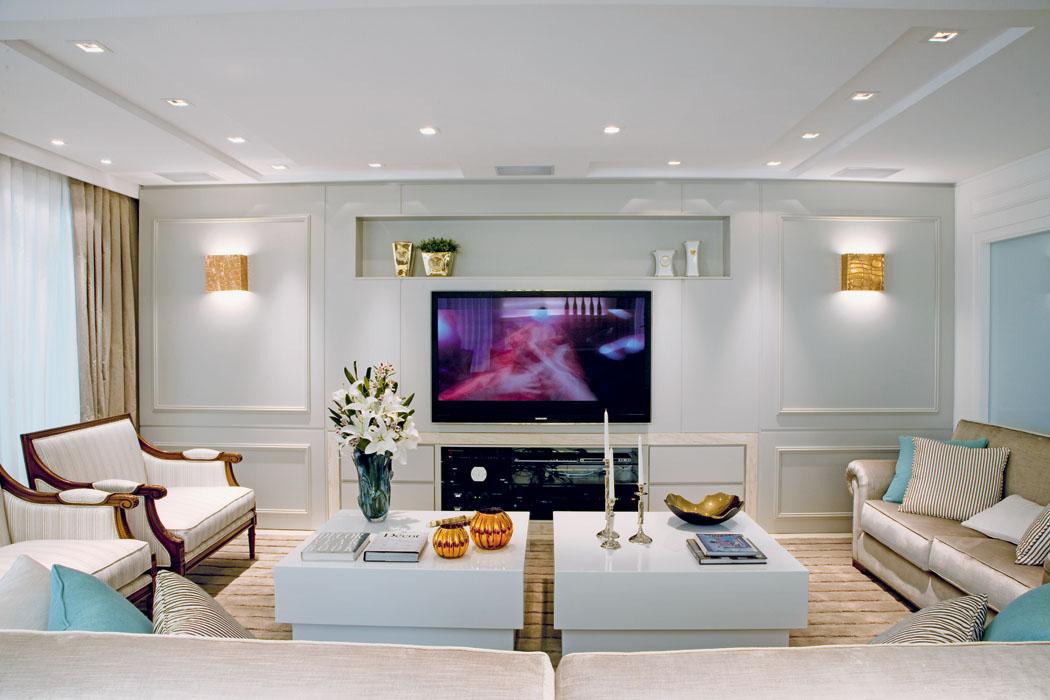 Salas de estar modernas e contemporneas  Decor Alternativa