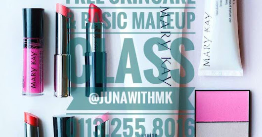 - FREE SKINCARE CLASS & BASIC MAKE UP ~