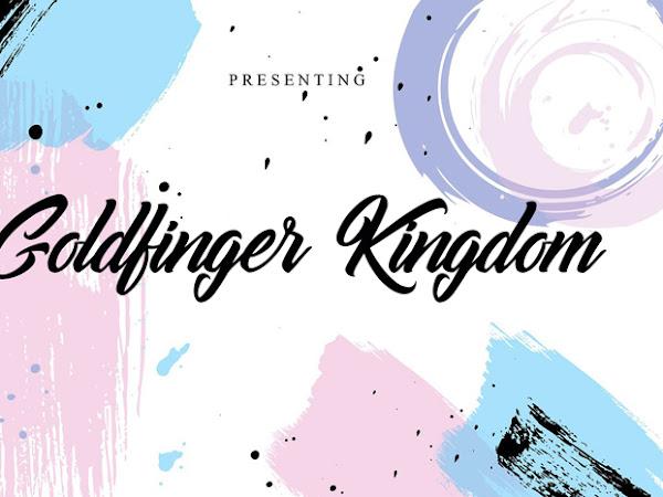 Goldfinger Kingdom Script Font Free Download