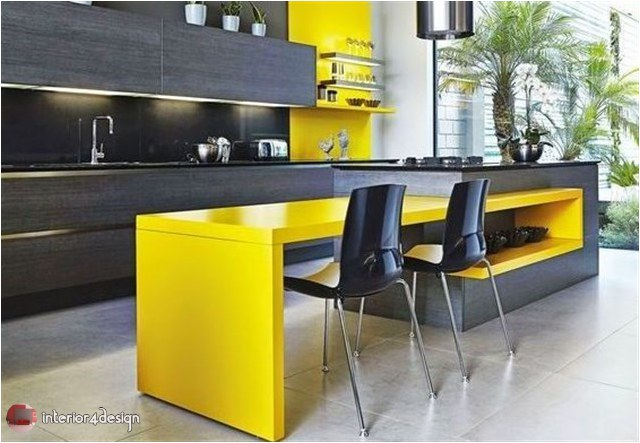 Colorful Kitchen Designs 9